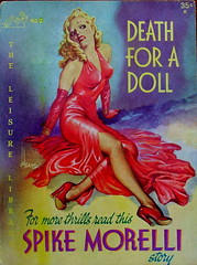 Death For A Doll - Leisure Library - No 2 - Spike Morelli - 1952