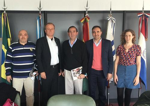 Visit of Jari Laukia, director of the Finnish institution Haaga Helia University of Applied Sciences