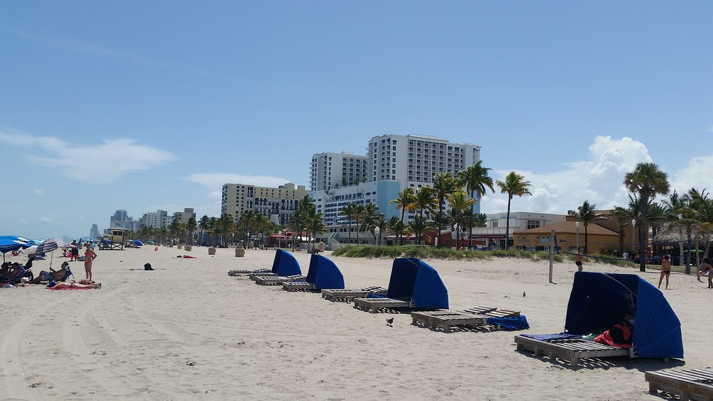 Garfield Beach Hollywood Florida