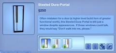 Steeled Dura Portal