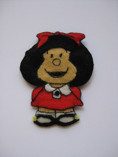 Mafalda Brooch by ONE by one