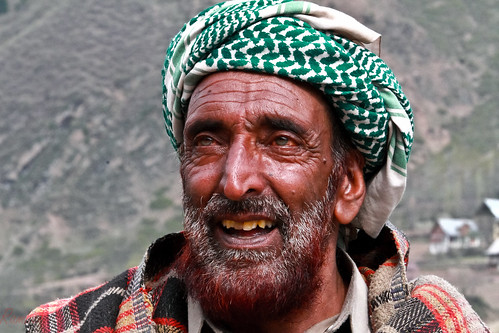 Shepherd !!! Satisfied with life at 75 Plus in Sonmarg !!!