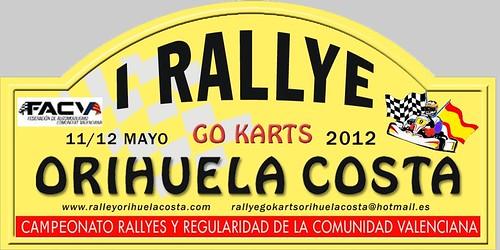 Rallye Go Karts Orihuela Costa