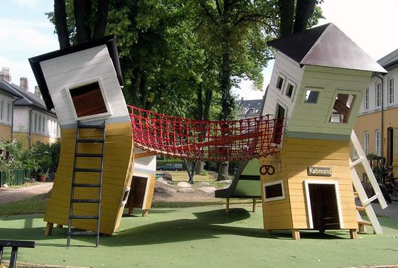 Brumleby playground, Copenhagen. Design: Monstrum