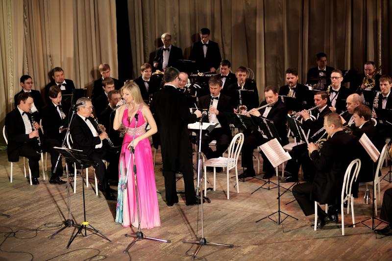 Новосибирский Духовой Оркестр фотографии выступления
