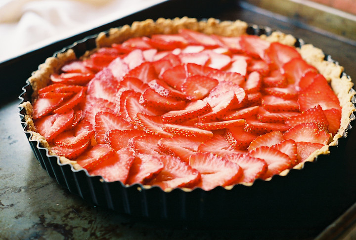 Strawberry Lime Tart