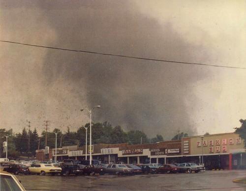 Niles Tornado, May 31, 1985