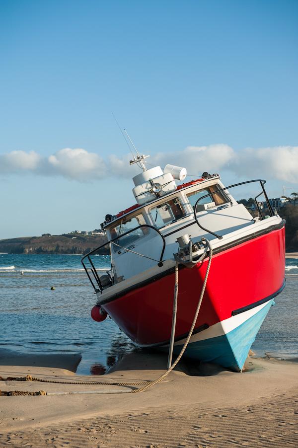 Boat in St. Ives