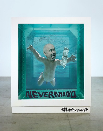 DAMIEN HIRST NEVERMIND by Colonel Flick