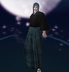 ~sss~ Hakama antique blue