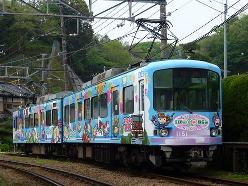 江ノ電1101F@極楽寺検車区