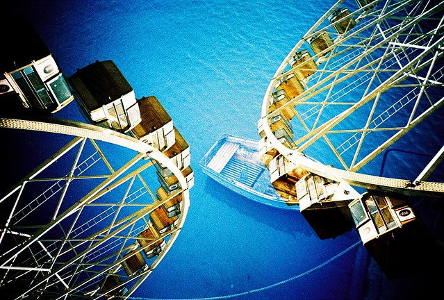 Wheel in the water