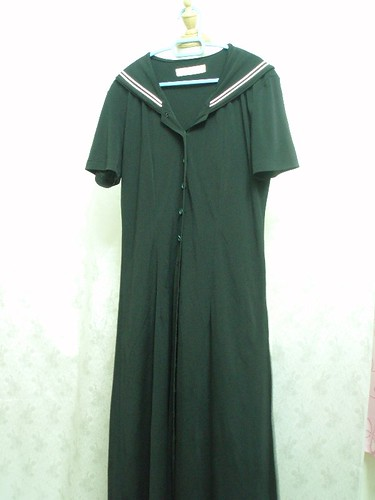 sailor collar dress F