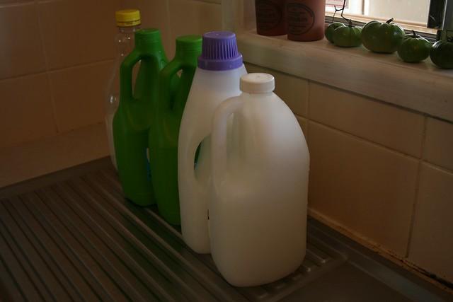 Homemade laundry liquid