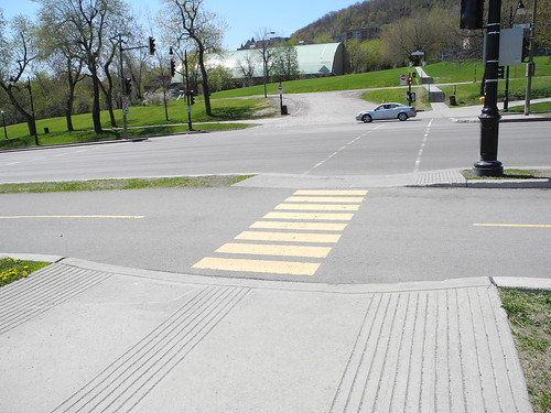 Mini crosswalk