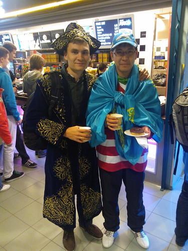 Kazakh fans
