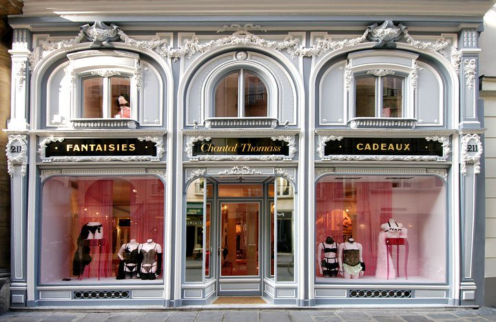 French madame fabulous lingerie store on rue saint honore - Boutique comptoir des cotonniers paris ...