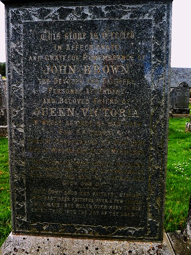 John Brown's Grave, Crathie, Scotland