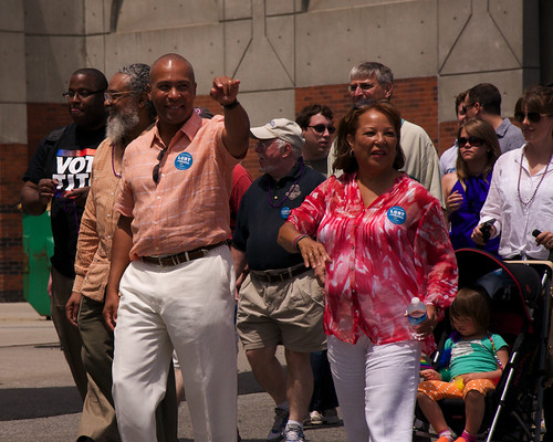 Governor Deval Patrick and Diane Patrick