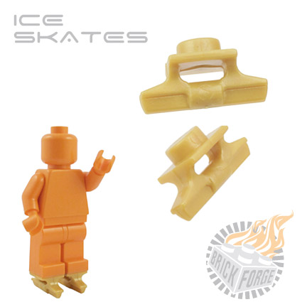 Ice Skates (pair) - Gold