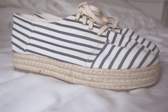 Striped Shoe