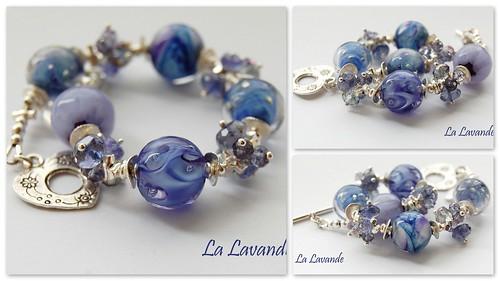 La Lavande Bracelet by gemwaithnia