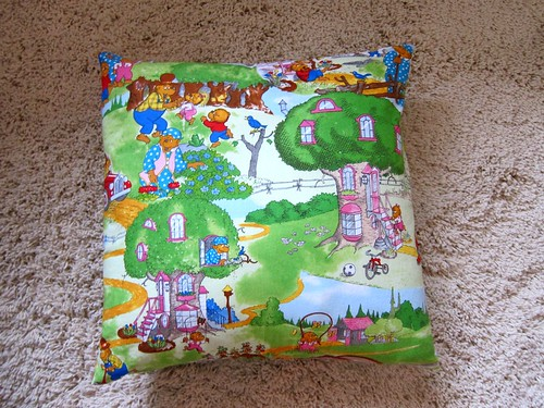 Berenstain Bears pillow