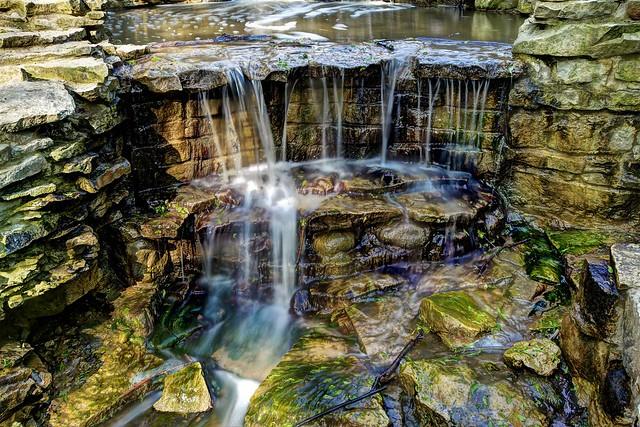At the Lake Park Falls