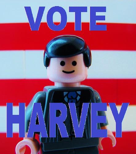 Vote For Me harvey lego