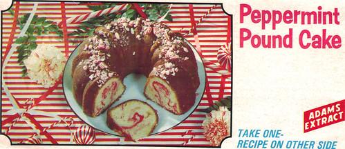 peppermint poundcake