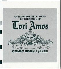 Tori Amos Comic Book Tattoo_ Sticker