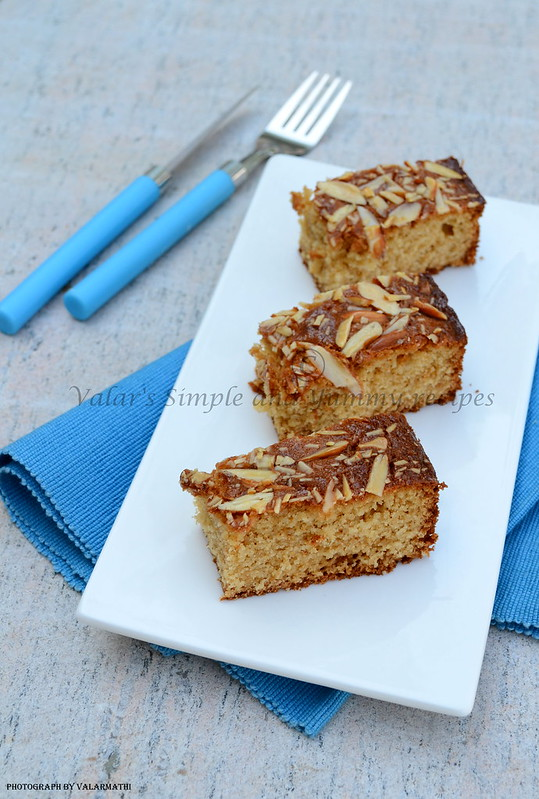 Honey and Almond cake