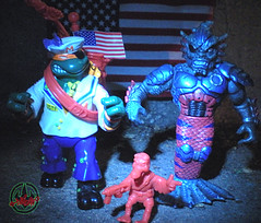 Mutant Military  TEENAGE MUTANT NINJA TURTLES ::  MIDSHIPMAN MIKE xvi / ..with MERDUDE (( 1991 ))