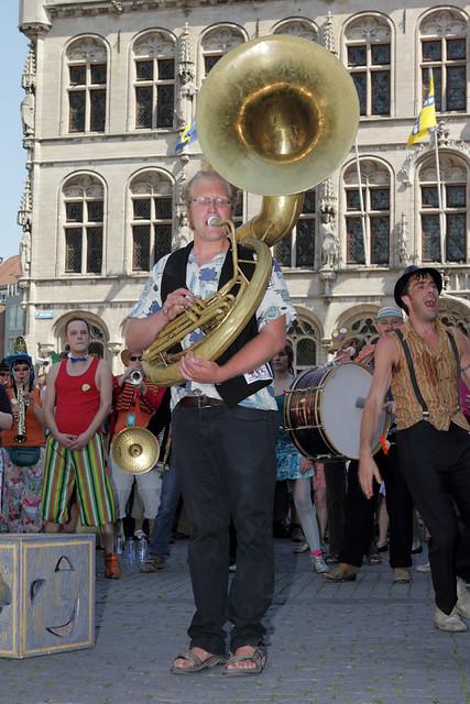 De Propere Fanfare - Leuven in Scène 2012