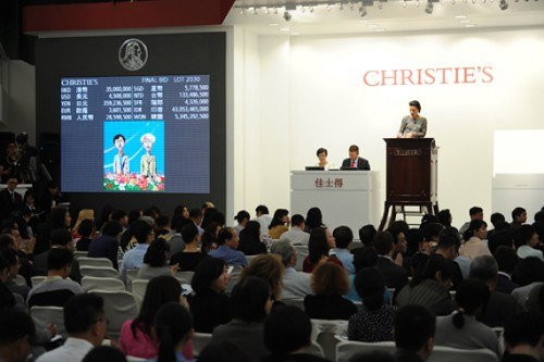 Hong Kong Auctions Showed Strength for Wine and Contemporary Art, Defying Fears of a Stagnating China