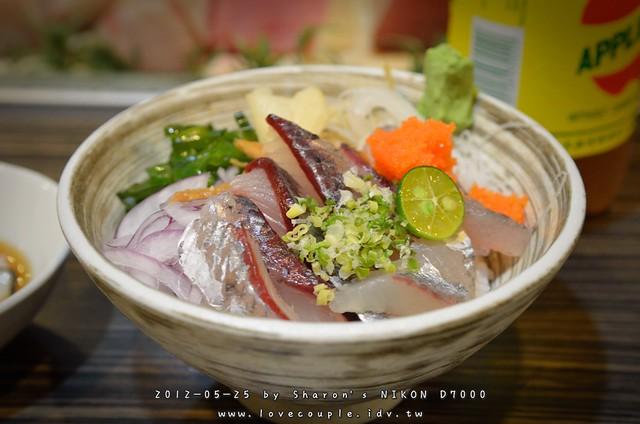 飛魚蝦卵蓋飯