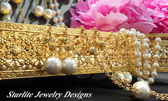 flower, pearl, jewellery, bling-bling,