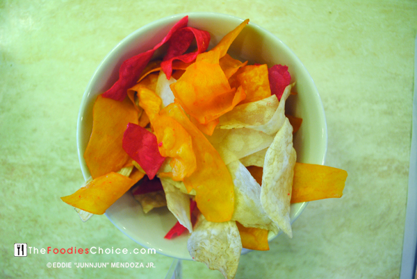 Cassava Chips at Emilion Restaurant-Iloilo