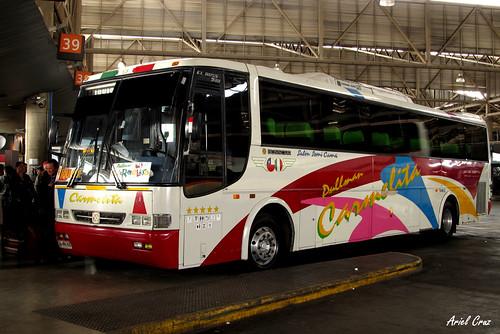 Pullman Carmelita | Terminal San Borja | Busscar El Buss 340 / TA4662