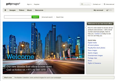 My first Getty Images Front Page :)