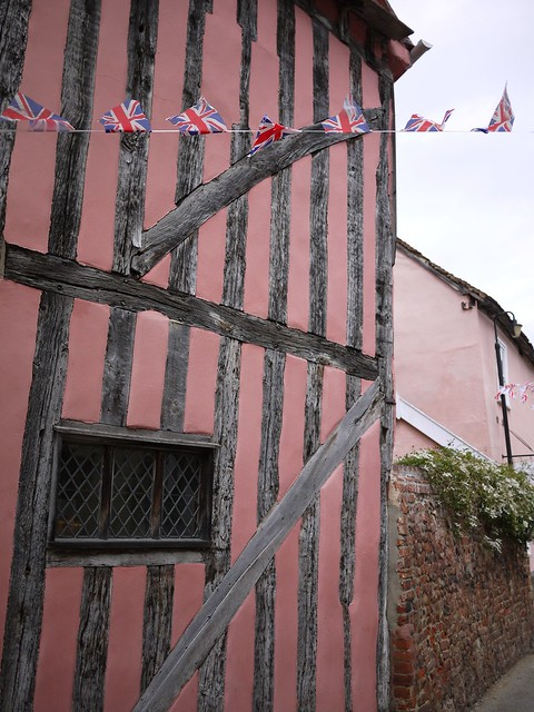 Lavenham Pink Cottage