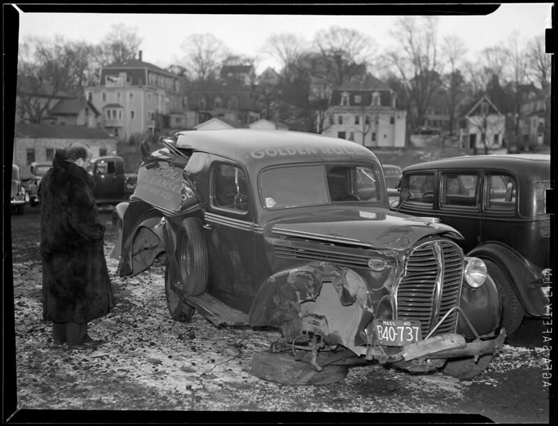 Damaged auto