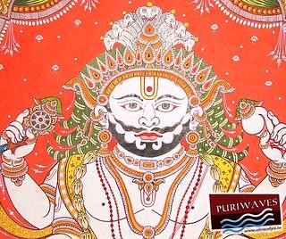 Ananta Basudeb, Pati thakur of Lord Balavadra