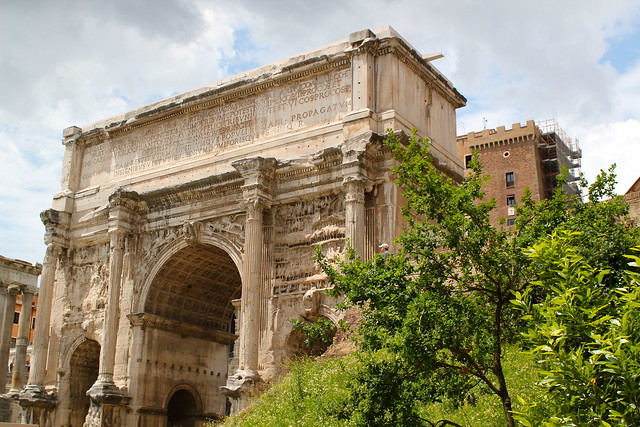 The Arch of Titus at the Forum