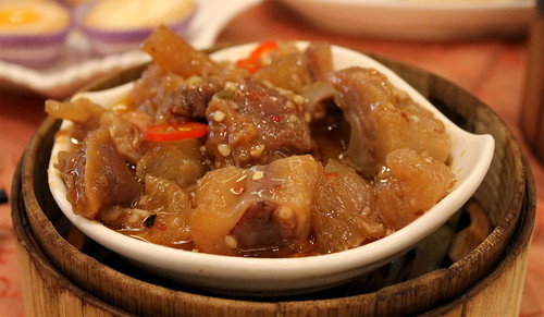 Beef Tendon with Chu Hou Sauce