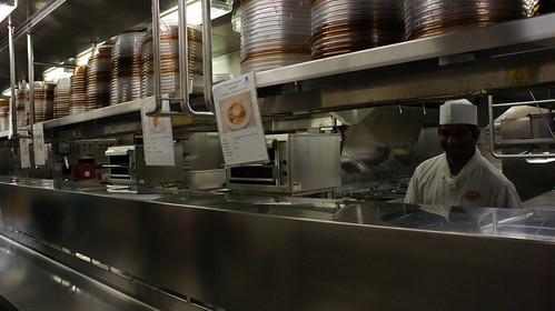 Ship's Kitchen - Norwegian Jade Behind the Scenes Tour
