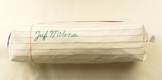 Lijntjes en schoonschrift voor Juf Milena