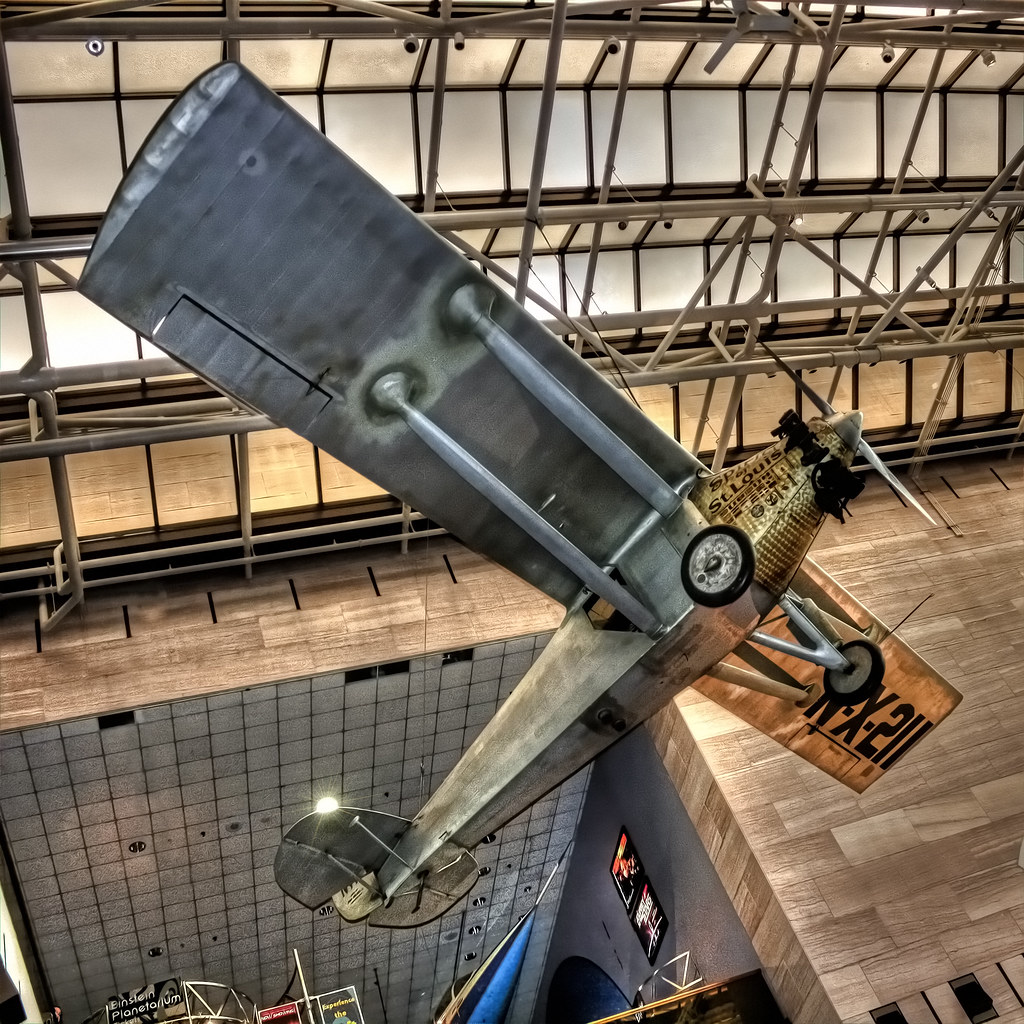 Washington D.C. - National Air and Space Museum Spirit of St. Louis Ryan M-2 02