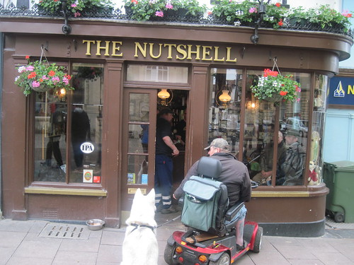 Tiny Pub Called The Nutshell in Bury-St Edmunds