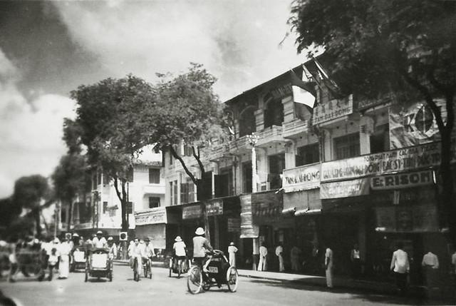 Saigon - Rue d'Espagne, nay là Lê Thánh Tôn, phía sau chợ Saigon